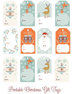 Enjoy these Printable Christmas Gift Tags to help you save some time and money this holiday season. Enjoy these Free Printable Christmas Gift Tags to help you save some time and money this holiday season. Santa Claus will thank you! Christmas Yarn, Christmas Holidays, Christmas Gifts, Holiday Gifts, Christmas Ideas, Holiday Cards, Free Printable Christmas Gift Tags, Christmas Labels, Christmas Tags To Print