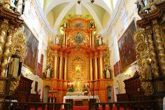 Wnętrze kościoła w Borku Starym. #dominikanie #klasztor #kościół #borekstary