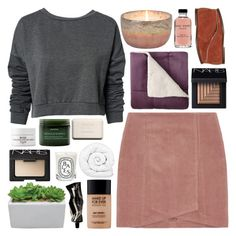 """""""LACE"""" by miniatureminimalist ❤ liked on Polyvore featuring ONLY, Aesop, MAKE UP FOR EVER, Fresh, NARS Cosmetics, Bobbi Brown Cosmetics, JCPenney Home, Diptyque, Aveda and Chanel"""