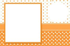 Orange Party, Background Design Vector, Frame Clipart, Party Printables, Party Invitations, Diy And Crafts, Clip Art, Baby Shower, Wallpaper