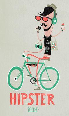 nozzman hipster douche illustration www.teamconfetti.nl