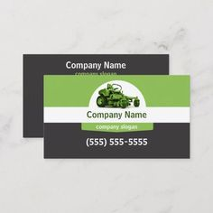Lawn Care Business Card | 1000 Lawn Care Business Cards, Business Card Size, Business Card Design, Company Slogans, Company Names, Lawn Service, Christmas Card Holders, Business Supplies, Kids Shop