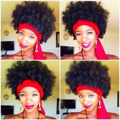 Natural hair - curly cues are bright!. Visit NaturalHairSalonFinder.com to find a stylist for your natural hair