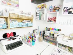 Craft Room Storage Tips by Soraya Maes for We R Memory Keepers