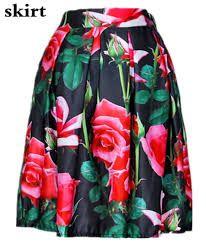 Resultado de imagen para imagenes de faldas de moda 2015 con flores