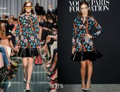 fe70bfd3fb5d Adèle Exarchopoulos In Louis Vuitton - Vogue Foundation Gala - Red Carpet  Fashion Awards