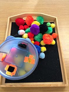 Teaching Learners with Multiple Special Needs: Fine Motor Work Boxes    Great ideas for DIY fine motor workboxes
