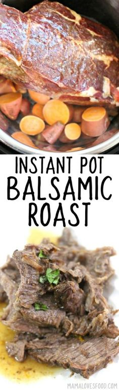 INSTANT POT BALSAMIC ROAST