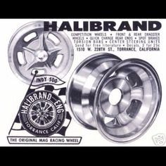 Vintage Drag Racing - Halibrand Wheels