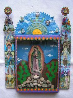 La Virgen de Guadalupe nicho