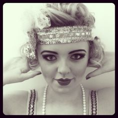20s Flapper Makeup | Here is my version of a 1920s Flapper Girl:
