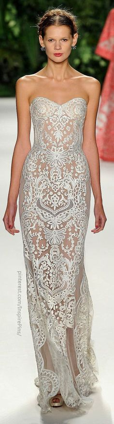 Naeem Khan... Ann, I can see you wearing something gorg like this @Ann Flanigan Flanigan Flanigan Flanigan Travis
