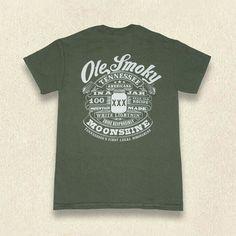Ole Smoky In A Jar Tee #mens #shop #Gatlinburg #Tennessee #tshirt #gift #idea