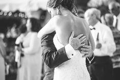 Emotional father daughter dance ar LAUREN + ART'S Charleston wedding at Palmetto Landing in South Carolina » by destination wedding photographers Aaron and Jillian Photography