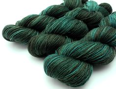 Kilt Me Dead -  Tenacious Tencel Sock Yarn - Hand Dyed Sock Yarn. $22.00, via Etsy.