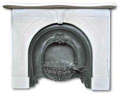 Sandstone Fireplace Mantel: an Original Mid Victorian Fireplace Mantel ...
