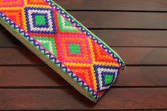 1 Yard-White Fabric Trim-Multi Color Thread Embroidered Floral Design-Sari Border-Silk Sari Fabric-Pastel colours Silk Ribbon By The Yard