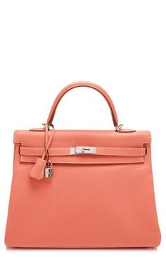 00b773101c7d 35Cm Crevette Clemence Leather Retourne Hermes Kelly by Heritage Auctions  Special Collections for Preorder on Moda