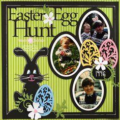 Easter Egg Hunt **Want2Scrap** - Scrapbook.com