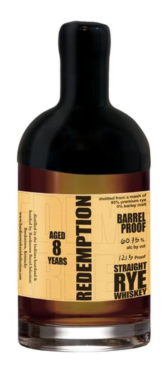 Review: Redemption Aged Barrel Proof Straight Rye - 7, 8, and 10 Years Old - Drinkhacker