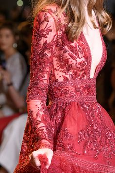 Zuhair Murad at Couture Fall 2016 (Details)
