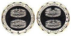 U.S. Army Combat Action Badge Challenge Coin