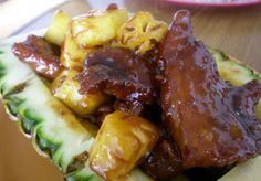 Paleo Pineapple Crock Pot Ribs  #justeatrealfood #paleopot