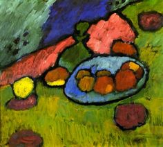 Still LIfe with Fruit Dish, circa 1907 - Alexei Jawlensky - The Athenaeum