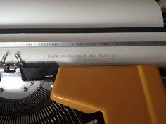 #schreiben #schreibmaschine  #autor