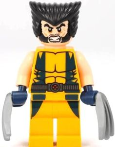 Super Hero LEGO - Wolverine Chopper Showdown