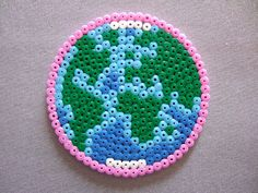 Hama Beads World-ah wish we'd had this sooner, would have been so cool as part of global warming project!