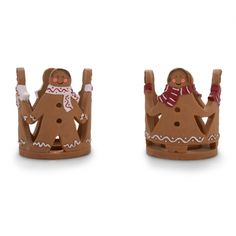 Christmas Gingerbread Man Or Woman Design Tealight Holder £9.99