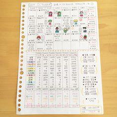 Financial Planner, Hobonichi, Handwriting, Addiction, Notebook, Bullet Journal, Notes, Study, Instagram