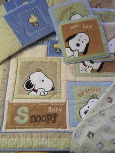 Baby Snoopy Crib Bedding Lambs Ivy Comforter Sheet Bumper Wall Hangings Snoopy Nursery, Baby Snoopy, Nursery Themes, Themed Nursery, Nursery Ideas, Disney Baby Nurseries, Baby Gender, Baby Disney, Crib Bedding