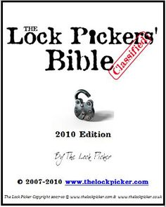 An interesting site about Lock Picking Guide! ♀