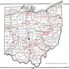 Indian Trails and Towns in Ohio Us History, American History, Family History, History Timeline, Native American Tools, American Indians, Historical Maps, Historical Society, Ohio Map