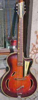 alte Jazzgitarre mit PU, Markneukirchen Hemosch (Herbert Todt) in Berlin - Prenzlauer Berg | Musikinstrumente und Zubehör gebraucht kaufen | eBay Kleinanzeigen