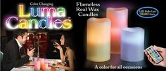 Real paraffin wax Luma Candles have 12 illuminating color options that complement any environment. Safe, flame less, and cool to the touch only means there isn't a need for a messy cleanup of spills and drips. Emitting a fresh vanilla scent these candles create a warm pleasant atmosphere for any occasion. Buy for your home to elevate mood or as a gift, regardless these Luma Candles are ideal year round.  Available At: www.buyluma.com