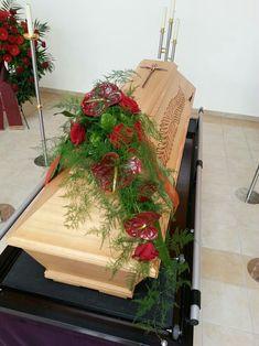 Funeral Flower Arrangements, Funeral Flowers, Floral Arrangements, Man Cave Mini Fridge, Big Flowers, Beautiful Flowers, Casket Flowers, Autumn Interior, Casket Sprays
