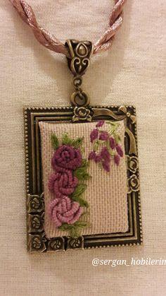 Embroidery necklece @sergan_hobilerim