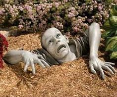 Lawn Zombie Decoration