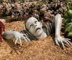 Every garden needs a zombie.