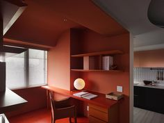 Colorful Home Interior Design For A French Fashion Designer In Taipei City