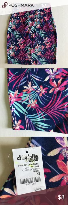 Brand New Charlotte Russe Mini Skirt Palm Mini Charlotte Russe Skirts Mini