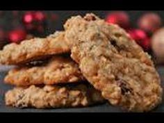 Crispy Oatmeal Cookies Recipe Demonstration - Joyofbaking.com - YouTube
