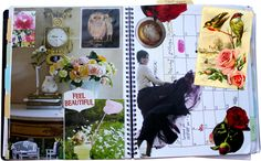 It's that time again – time to create your monthly vision board and goals.This ritual has become a valued moment of self-reflection for me each month, and the collages, which I create directly in my planner, become touchstones for how I want to feel throughout that month. I check in with the…