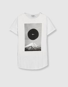 Japan print t-shirt - T-shirts - Clothing - Man - PULL&BEAR Albania