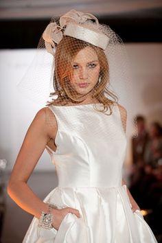 John Boyd hat for Caroline Castigliano fashion show www.johnboydhats.co.uk