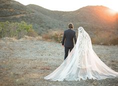 Trés Chic: Kori Bero & Parker Richey's Provençal Inspired Wedding on the West Coast - HarpersBAZAAR.com