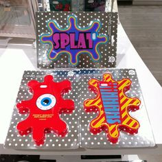 """Candies iPhone6 case """"SPLAT"""" series : COLOURED PAINTS, INFLAMED EYE, KEEP QUIET"""